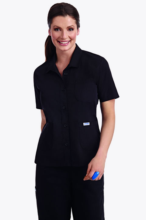 Button Front Ladies Work Top - 201T