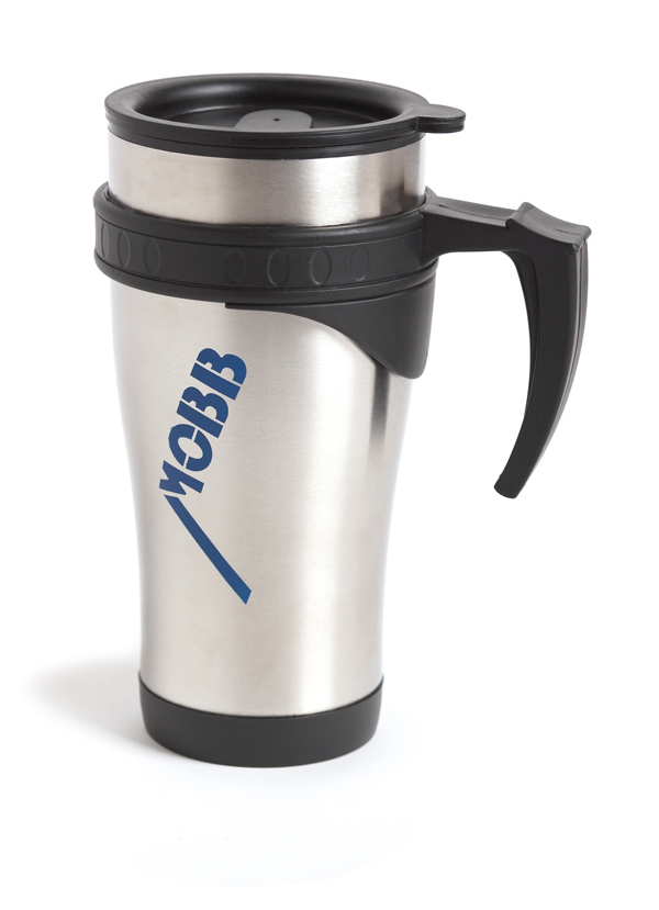 MOBB Logo Travel Coffee Mug