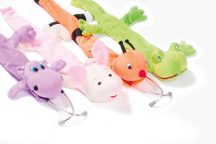 Assorted Plush Animal Stethoscope Covers