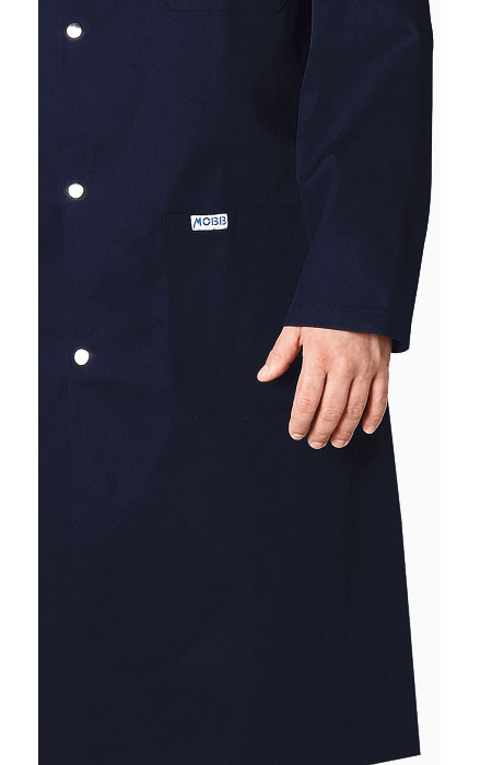 3 Pocket Cotton Shop Coat