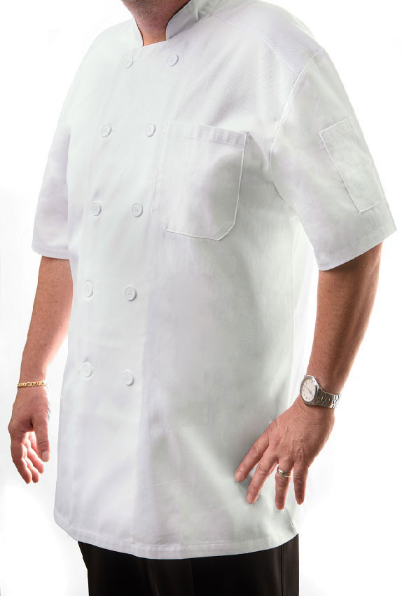 Short Sleeve Chef Coat(Unisex)