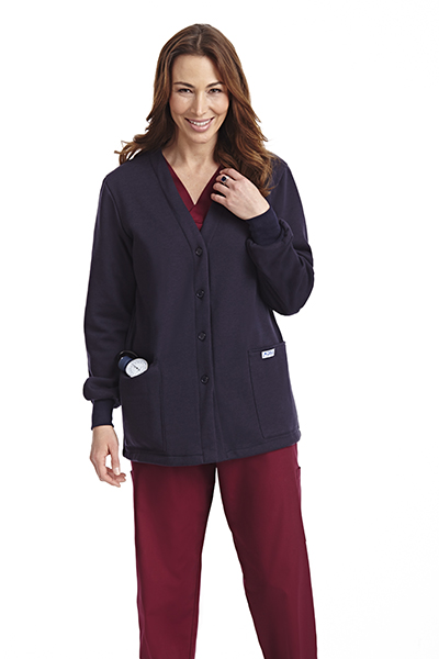 Button Front Fleece Jacket