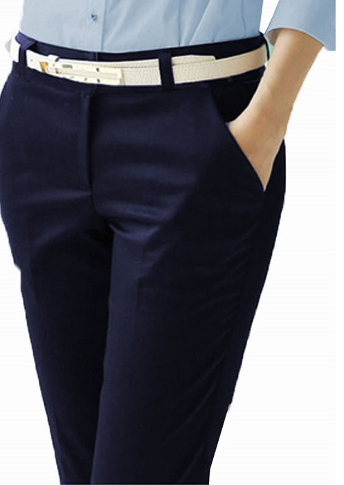 Ladies Flat Front Work Pant