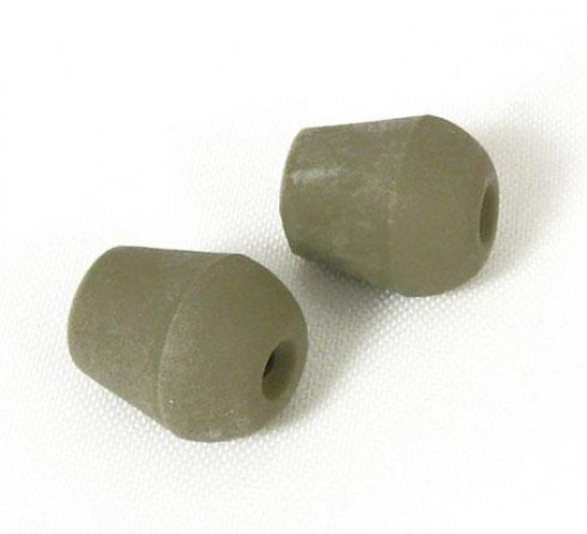 Eartips Push/Snap On For Newer Models: Firm, Gray, Small 38742